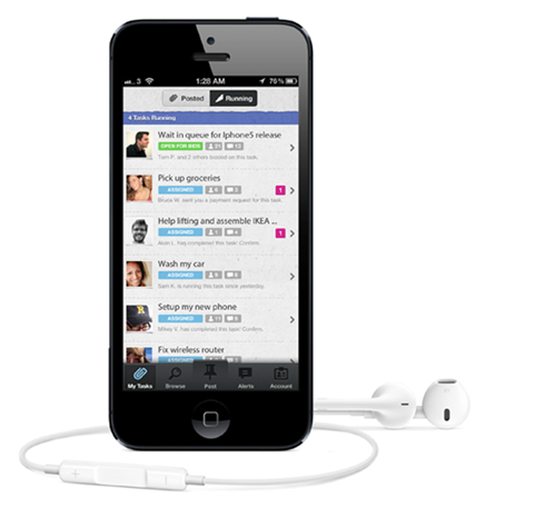 Airtasker letting you pay for an iPhone 5 queuer » EFTM