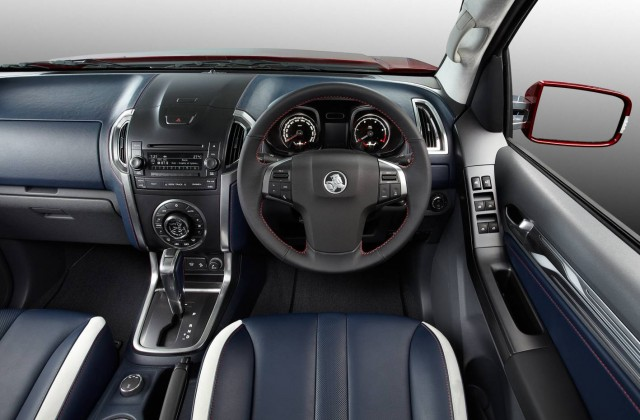 Holden Colorado Interior