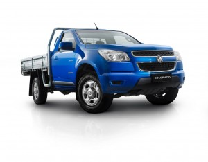Colorado LX also comes in Single Cab Chassis version