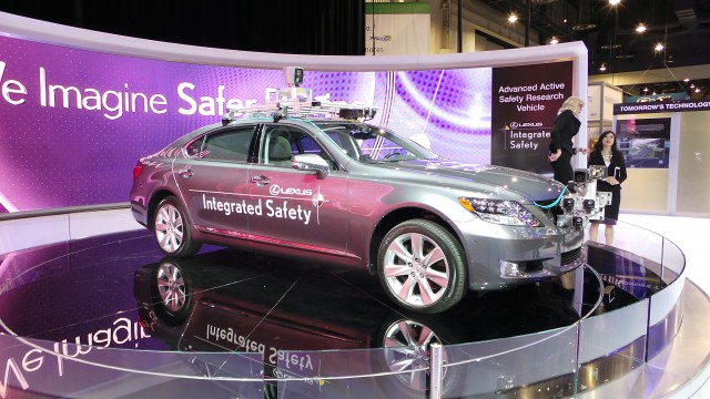 Lexus Integrated Safety Vehicle