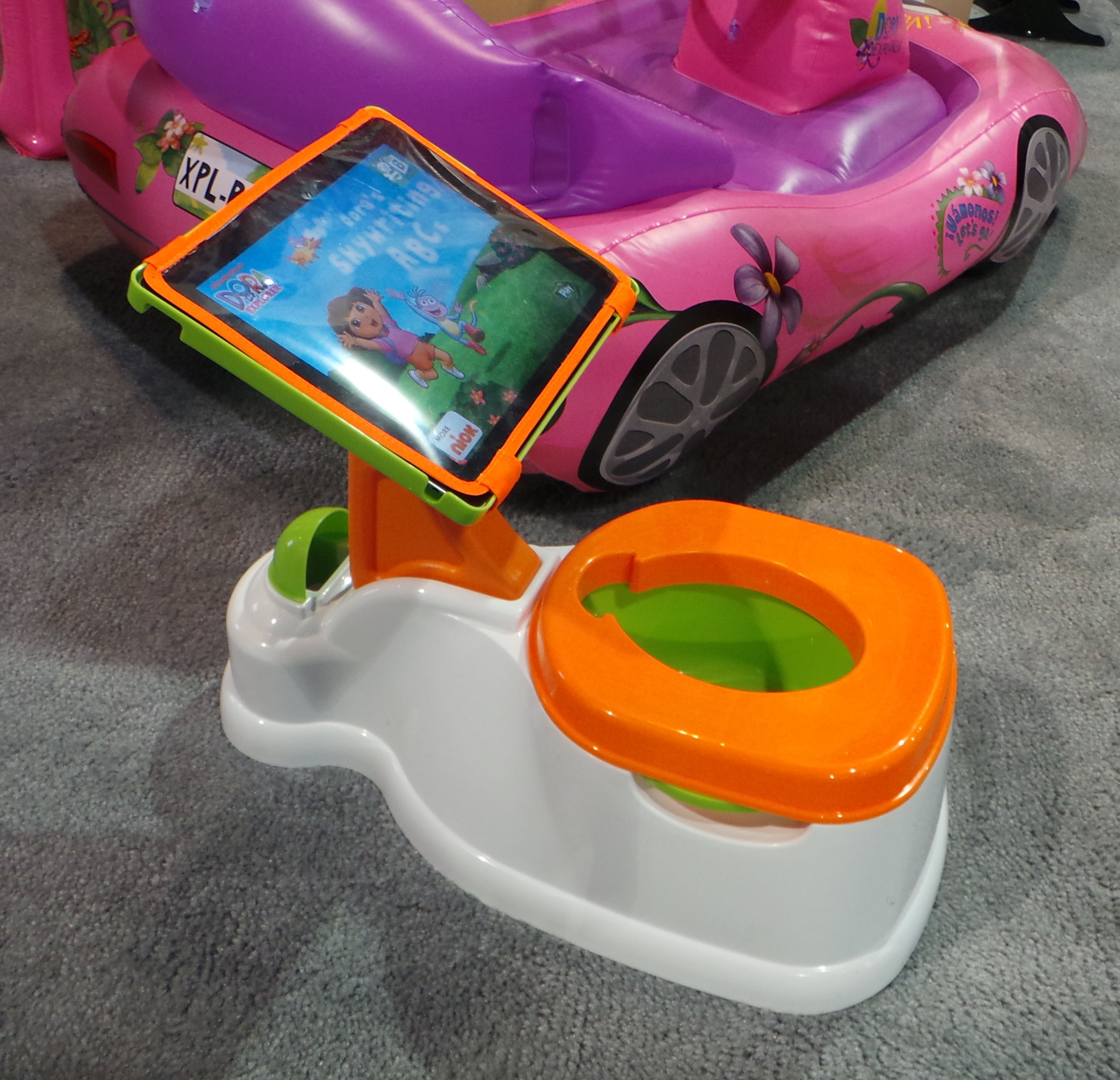 Toilet Train Your Kids With Your Tablet With The Ipotty