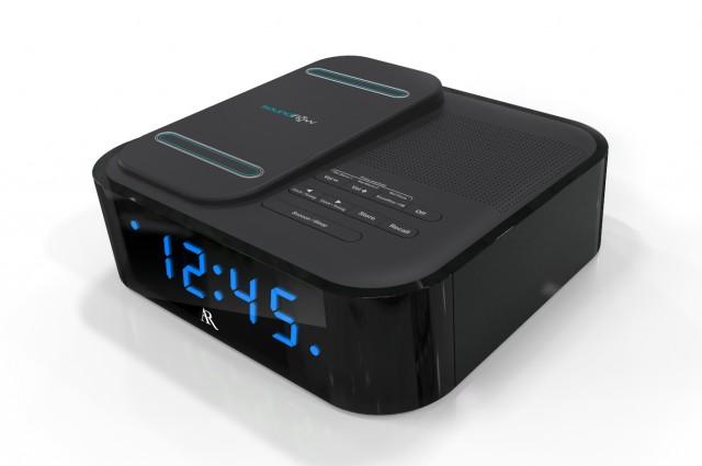 RCA Clock Radio with Soundflow soundmat