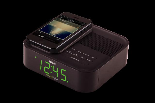 RCA Clock Radio with Soundflow