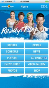 Australian Open official app