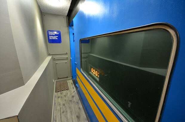 basement train
