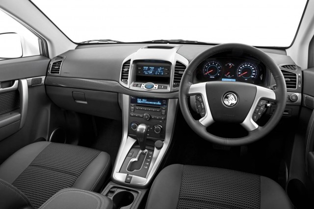 The interior of the Holden Captiva 7