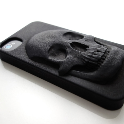 3D Sculpted iPhone Case with Skull design