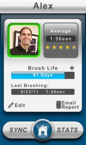 Beam Smart toothbrush app