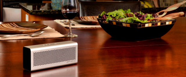 Braven Speaker in a Kitchen environment