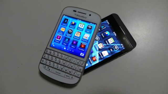 Blackberry Q10 & Z10