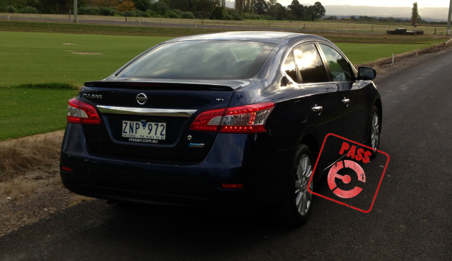 Nissan Pulsar - earns the PASS stamp from EFTM