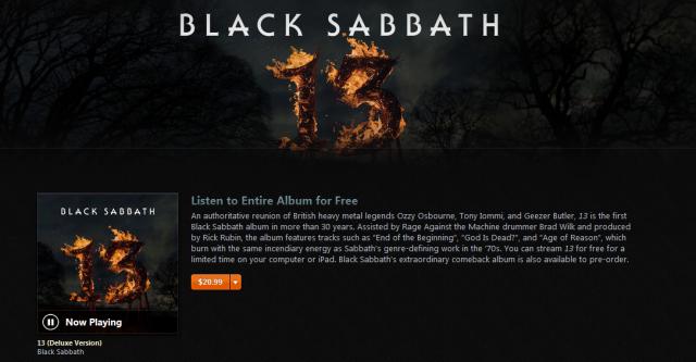 Black Sabbath - 13 - on iTunes