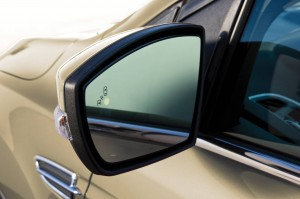Ford Kuga - Blind spot notification