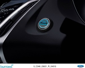 Ford Kuga - Push button start