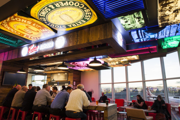 Coopers Alehouse at Sydney Airport