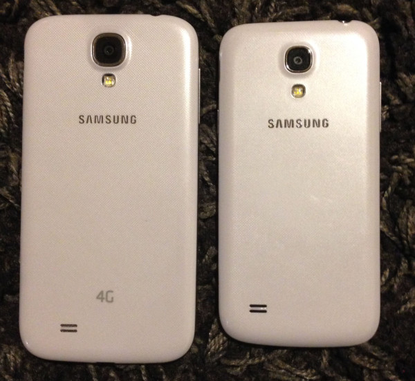 Samsung Galaxy S4 compared to Samsung Galaxy S4 mini