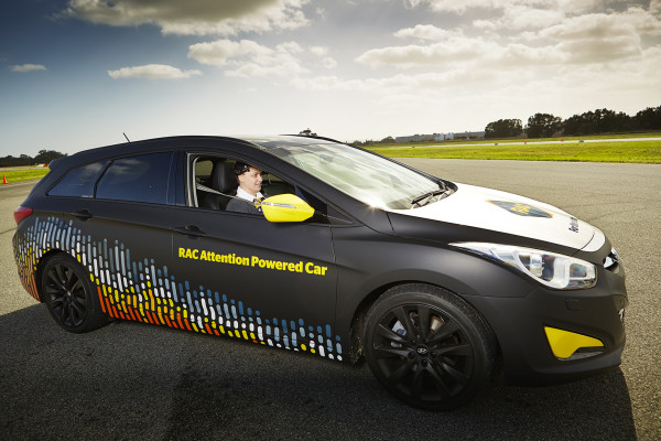 RAC attention powered car