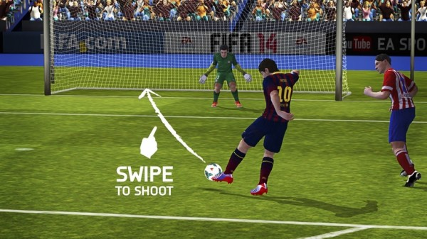 All new controls in FIFA 14 Mobile