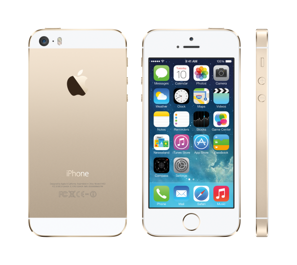 """Apple iPhone 5S in """"Gold"""""""