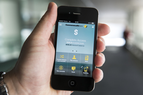 Commonwealth Bank's new re-designed app
