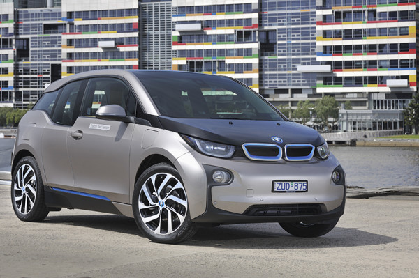 BMW i3 Electric Vehicle