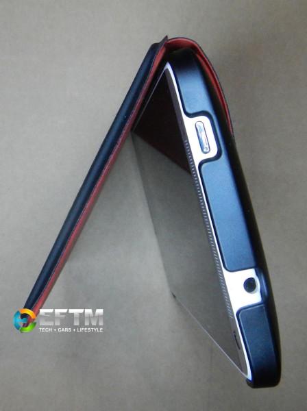HTC One Max in Power Flip Case