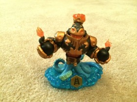 A combined character from Skylanders Swap Force