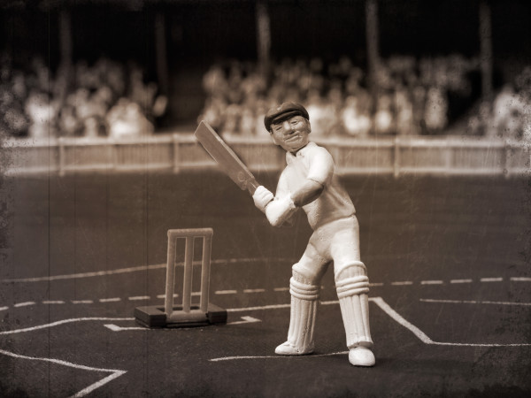 "Sir Don Bradman re-created in ""Test Match"" form"