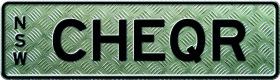 MyPlates CHEQUER design