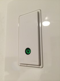 Belkin WEMO Light Switch up close