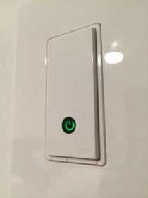 Belkin WEMO Light Switch up close