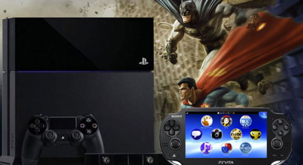Sony PS4 with PS Vita