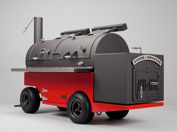The Yoder Frontiersman - a $17,000 BBQ for you and a hundred mates