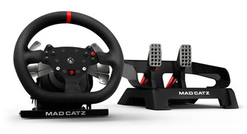 Mad Catz Pro Racing Force Feedback wheel and pedals