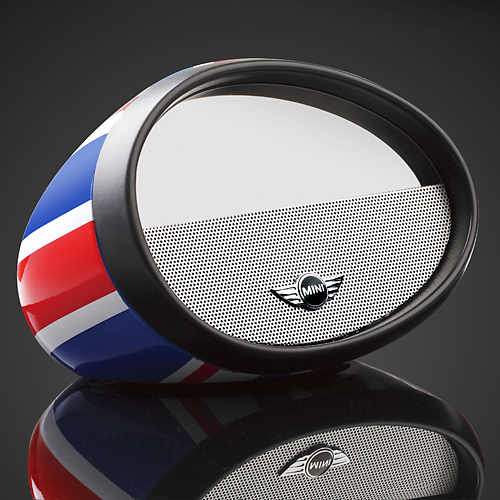 Mini Cooper mirror speaker