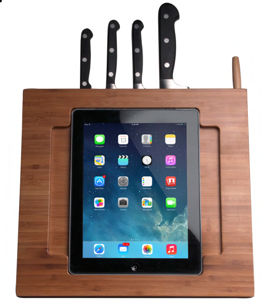 iPad Knifeblock