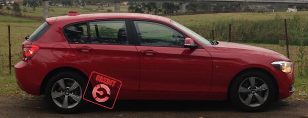 BMW 116i Sport receives the EFTM Credit Stamp
