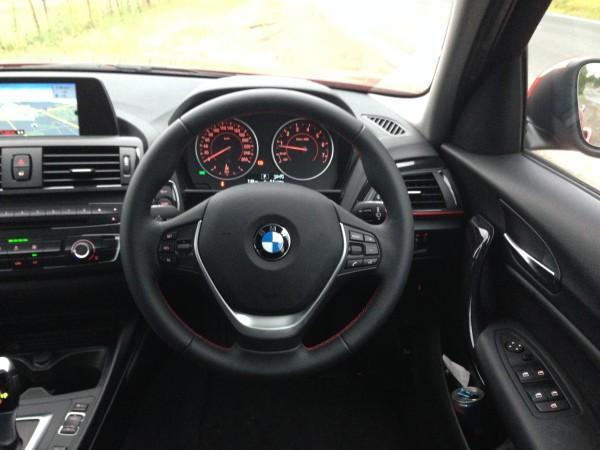 Inside the BMW 116i