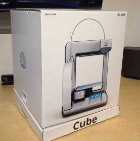 Retail packaging - Cube 3D Printer