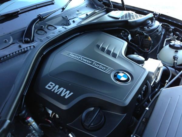 Under the hood - BMW 328i