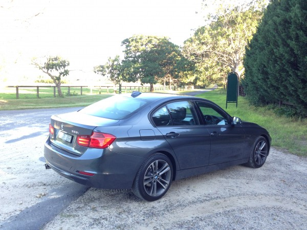 Great looks - the BMW 328i