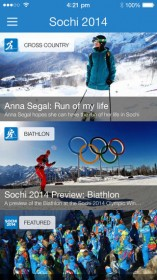 Sochi on Ten for info and live streaming