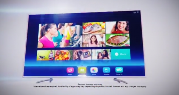 """New-Look """"Vision TV"""" interface for Hisense TVs in 2014"""