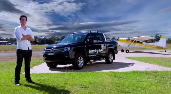 Duncan McIntyre - Branding by Air & his Volkswagen Amarok