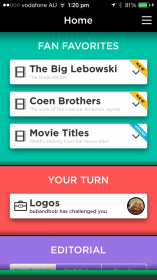 Quiz Up - Topic List