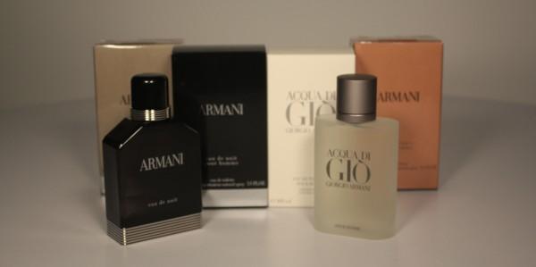 The Armani Range of Fragrances