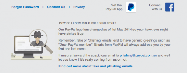 How PayPal help you confirm their email's are geniune
