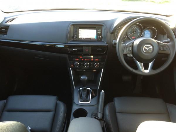 Inside the Mazda CX5
