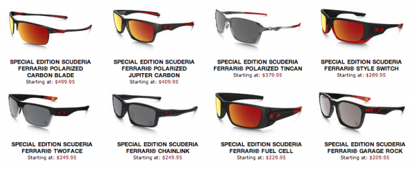 94beaa55e4 Scuderia Ferrari eyewear from Oakley - everything Oakley with a ...