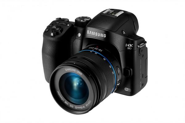 Samsung NX30 and 18-55 lens angle